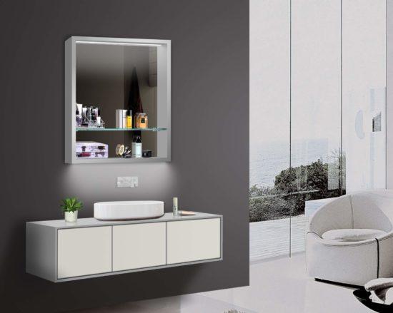 Micro Mirror Cabinet